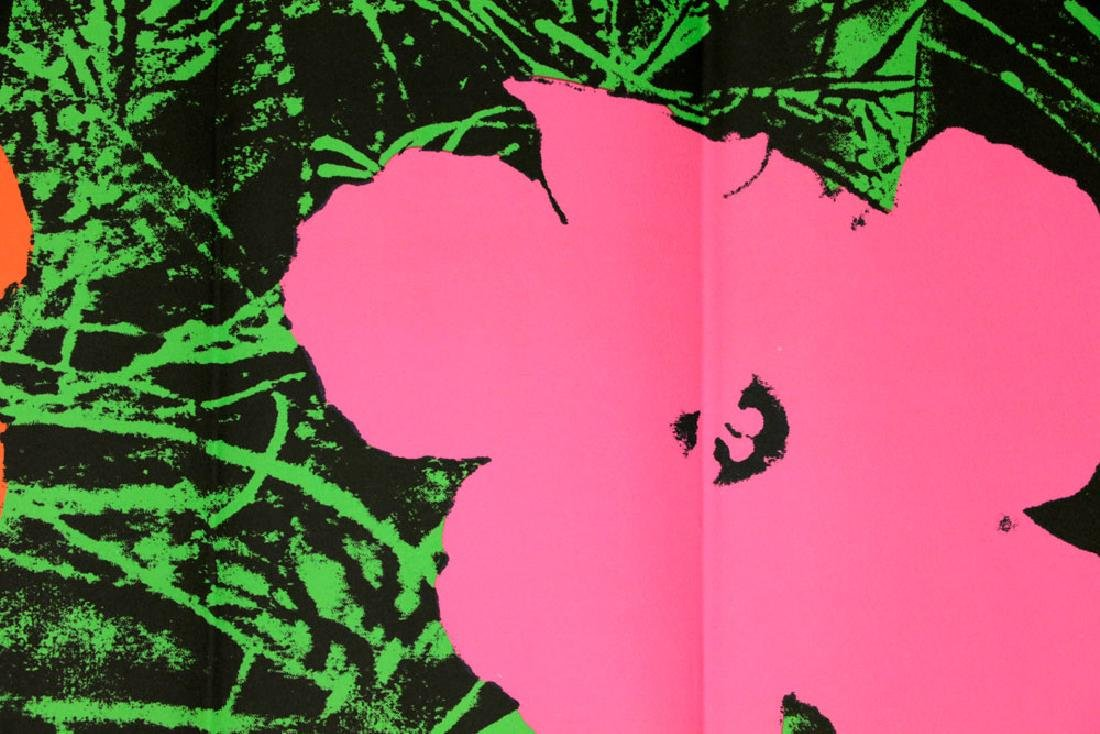 """Andy Warhol """"Flowers"""" Litho Mailer - 4"""