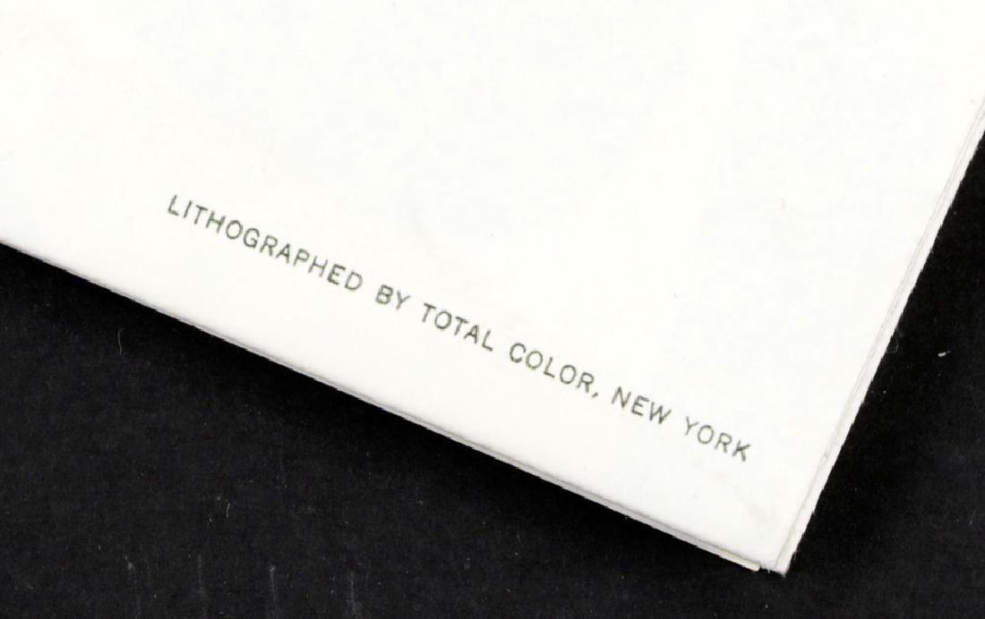 "Roy Lichtenstein ""Brushstroke"", Litho Mailer - 5"