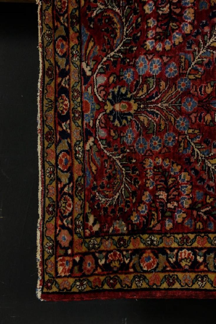 Antique Persian Sarouk Rug - 3