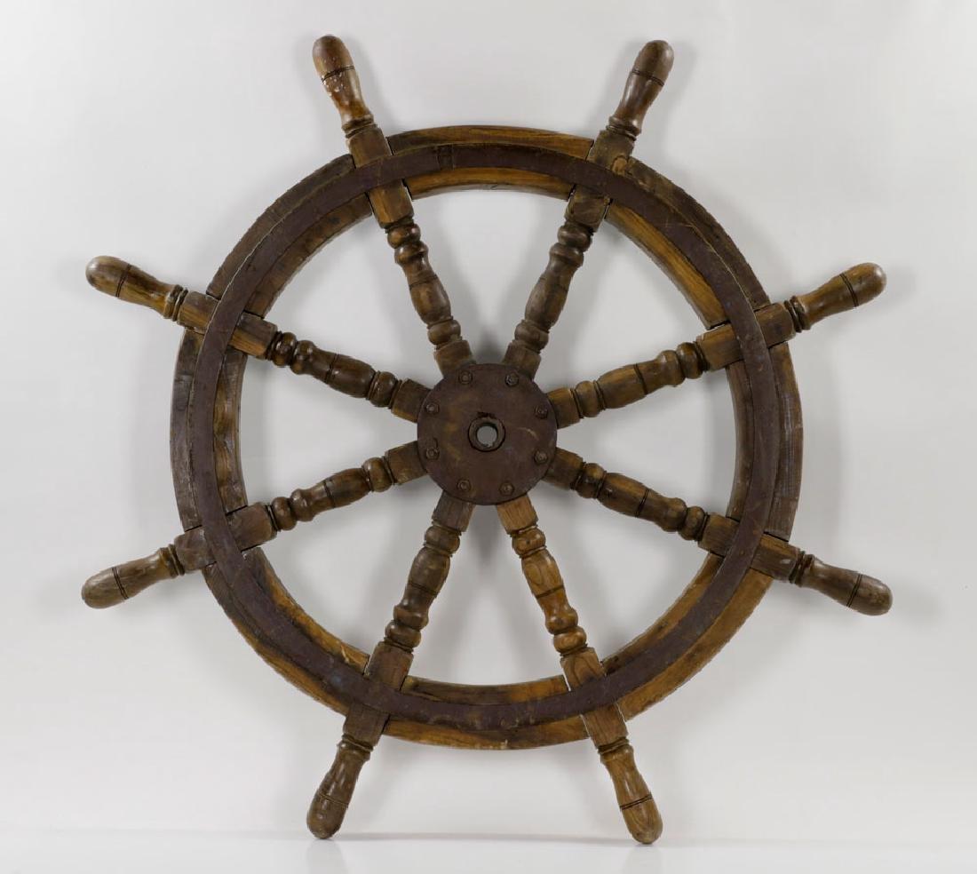 Antique Ship's Wheel