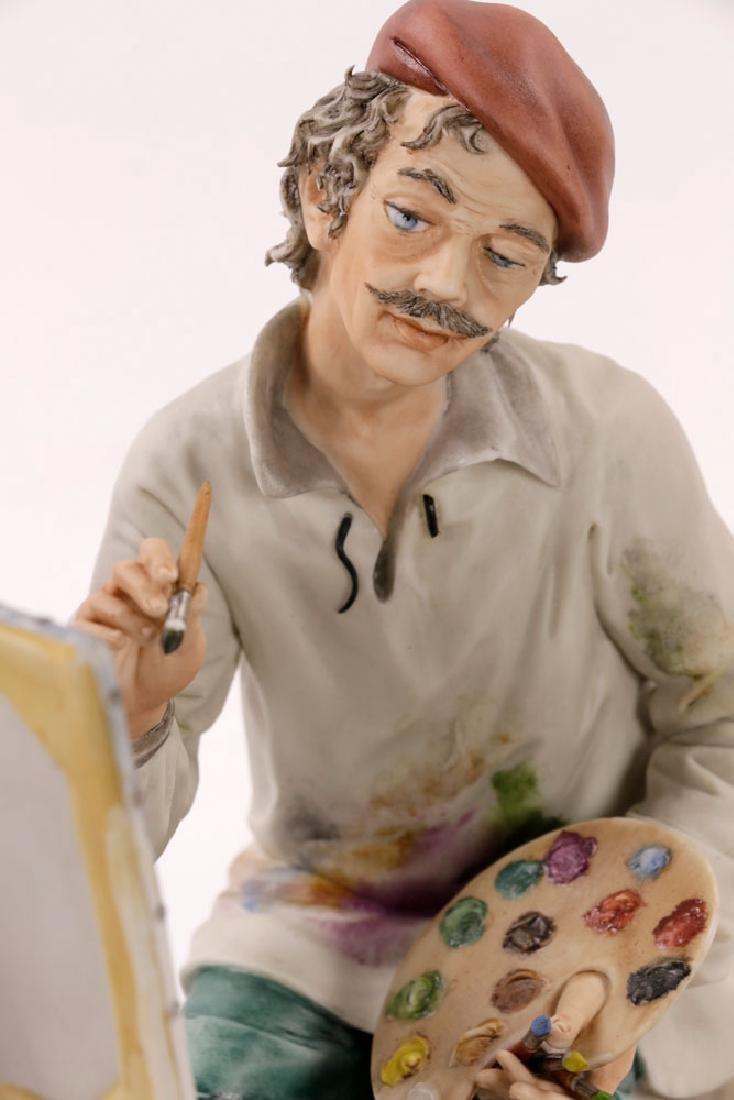 Italian Capodimonte Porcelain Artist Painting - 7