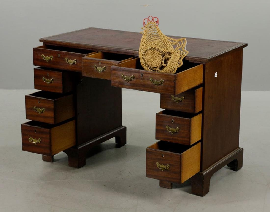 C1820 Double Banked Ship's Purser's Desk - 3