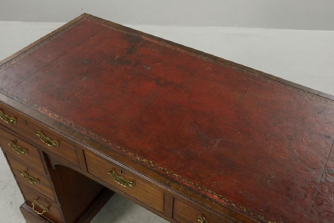 C1820 Double Banked Ship's Purser's Desk - 6