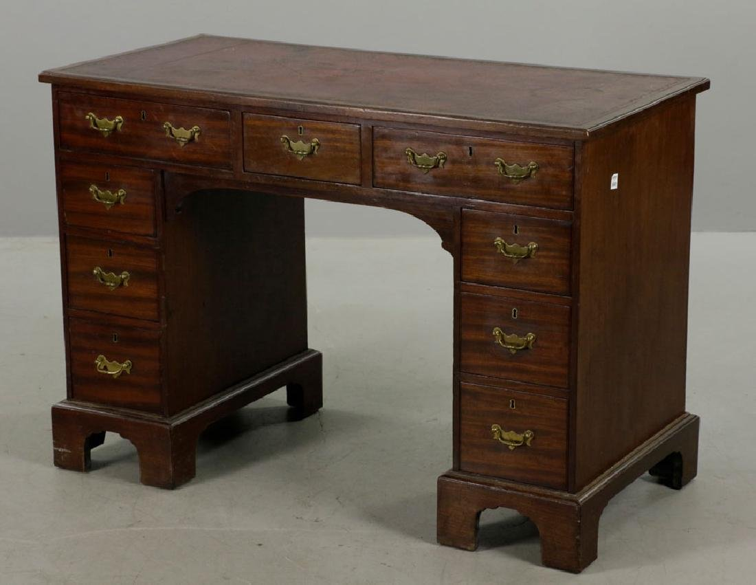 C1820 Double Banked Ship's Purser's Desk - 7