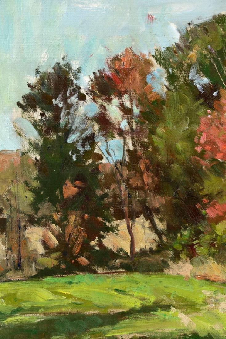 Bernard Corey, Autumn Landscape, Oil on Board - 3