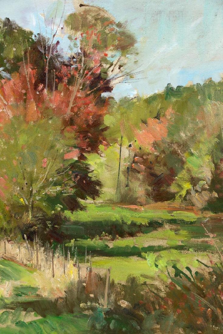 Bernard Corey, Autumn Landscape, Oil on Board - 4