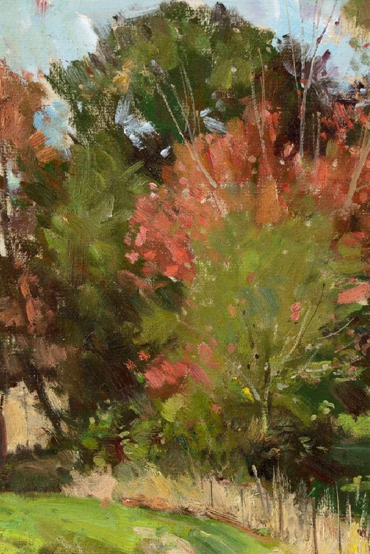 Bernard Corey, Autumn Landscape, Oil on Board - 5