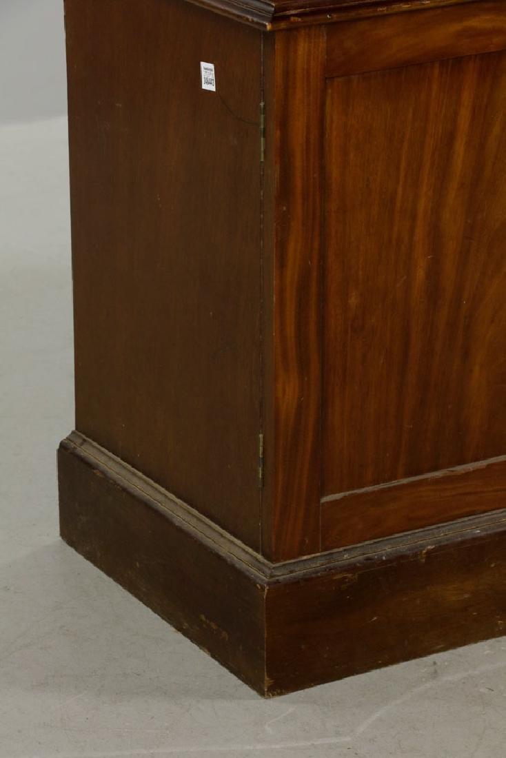 C1800 Mahogany 2-pc  Stepback Bookcase - 6