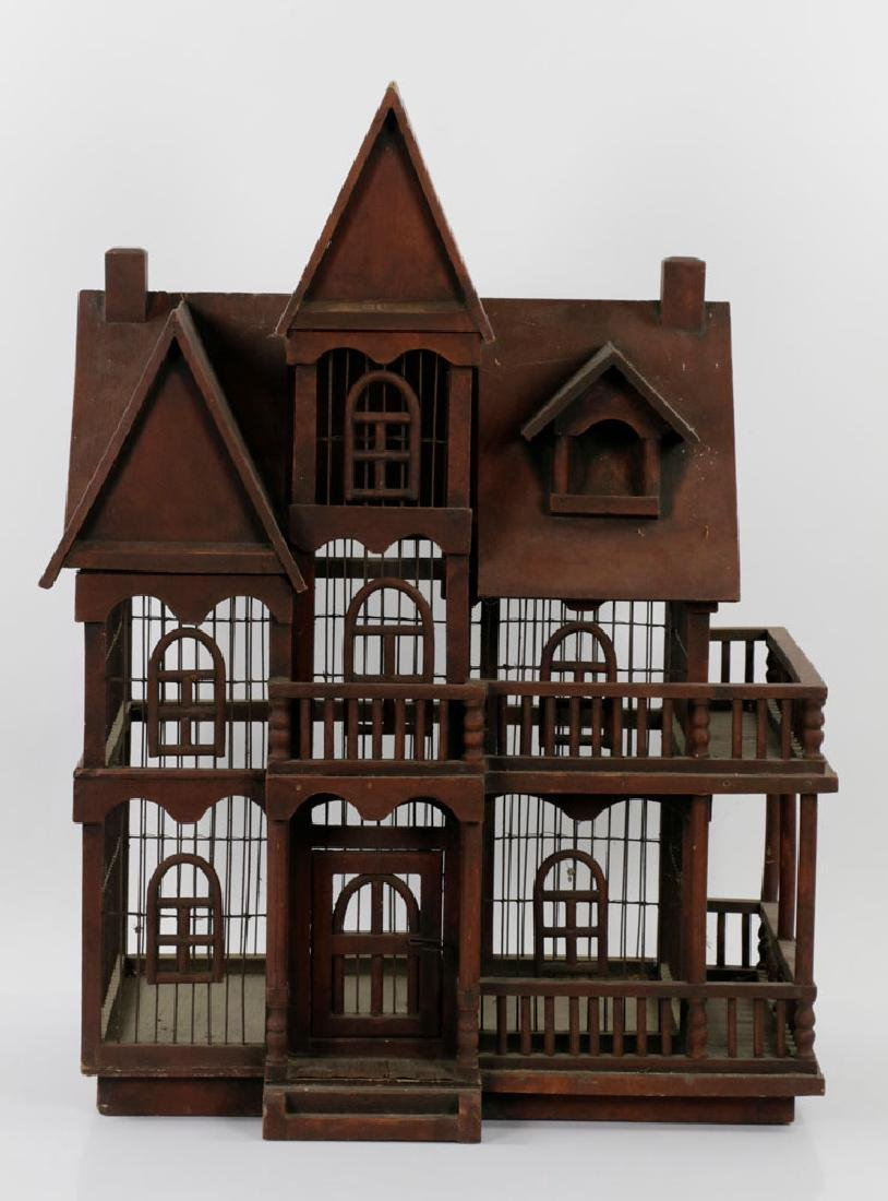 Lovely Old Victorian Architectural Birdcage