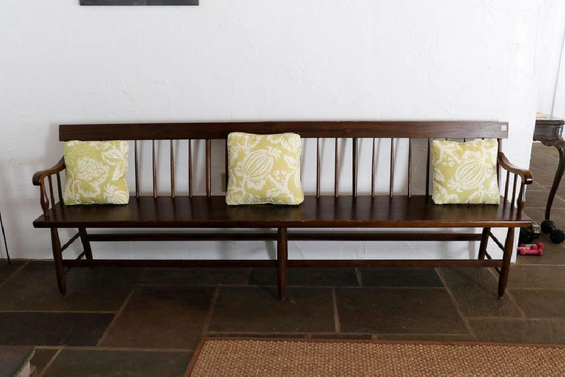 Wooden Country Pine Bench