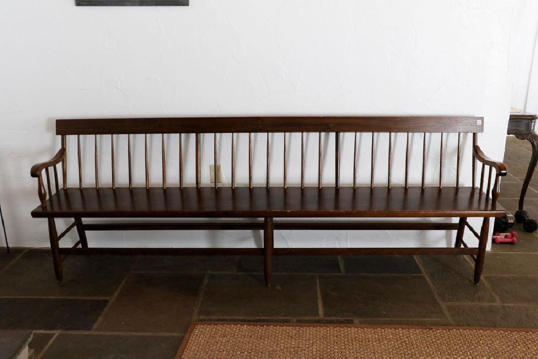Wooden Country Pine Bench - 2