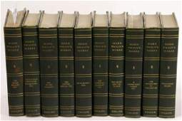 Mark Twain's Works, 10-vol Set