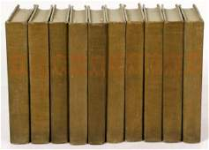 Complete Works of F. Marion Crawford, 10-vol Set