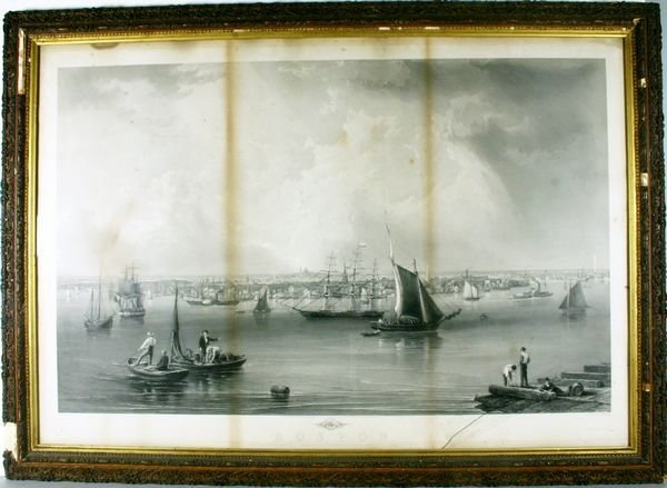 2: J.W. HILL, BOSTON, STEEL ENGRAVING, C.1857