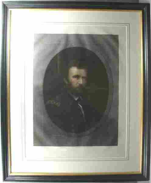 196: MARSHALL, U.S. GRANT, ENGRAVING W/HC, C.1868