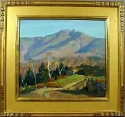 659: SIGNED EMILE A. GRUPPE, MT. MANSFIELD, VT, O/C
