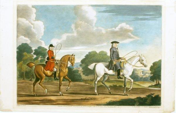 1004: SEYMOUR, A FAMOUS HUNTER, HC MEZZO, C.1750