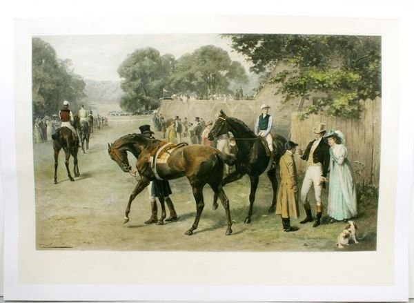 1005: WALLER, POINT TO POINT, PHOTOGRAVURE, C.1886