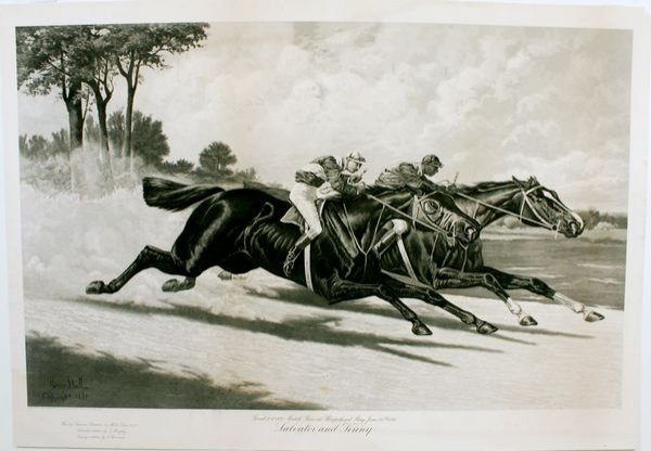1006: STULL, SALVATOR & TENNY, ENGRAVING, C.1891