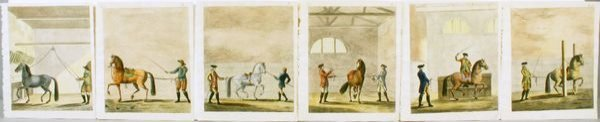 1008: HISTORY & ART HORSEMANSHIP (6) HC ENGR, C.1771