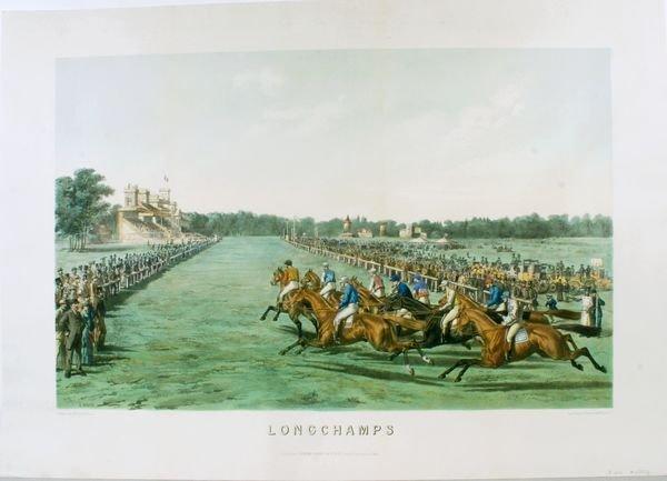 1017: DAVID, LONGCHAMPS, HAND & PRINT C LITHO, C.1870