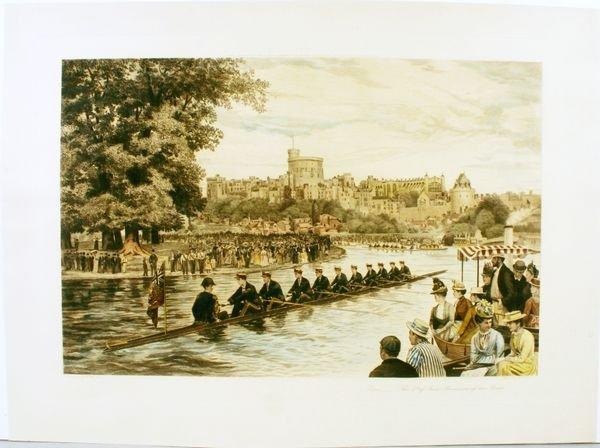 1018: WARDLOW, ETON-THE 4TH OF JUNE, HC ENGR,C.1845