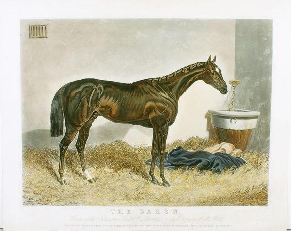 1019: HERRING, THE BARON, HC AQUATINT, C.1845