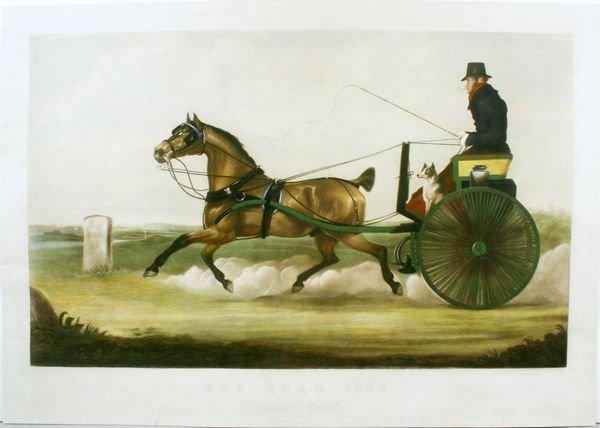 1020: 1825 COMMERCIAL TRAVELLER, HC ENGR, C.1850