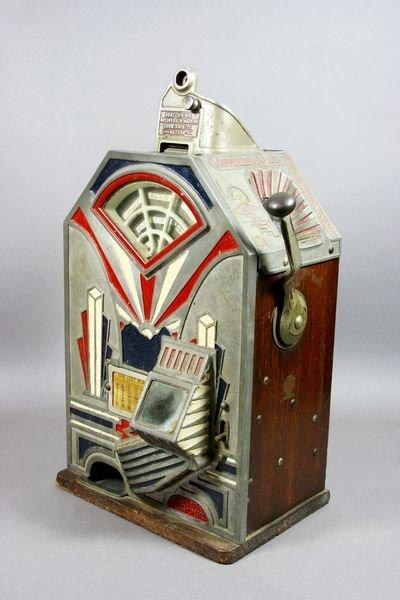 2014: 1932 LITTLE DUKE SLOT MACHINE BY JENNINGS