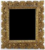 Antique Carved Gilt Frame Mirror