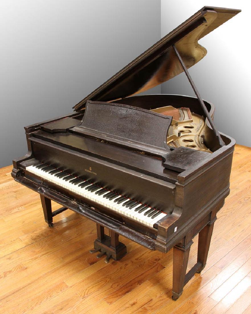 Steinway & Sons Grand Piano, Circa 1914