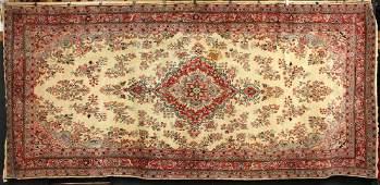 Semi-Antique Persian Mirabad Carpet