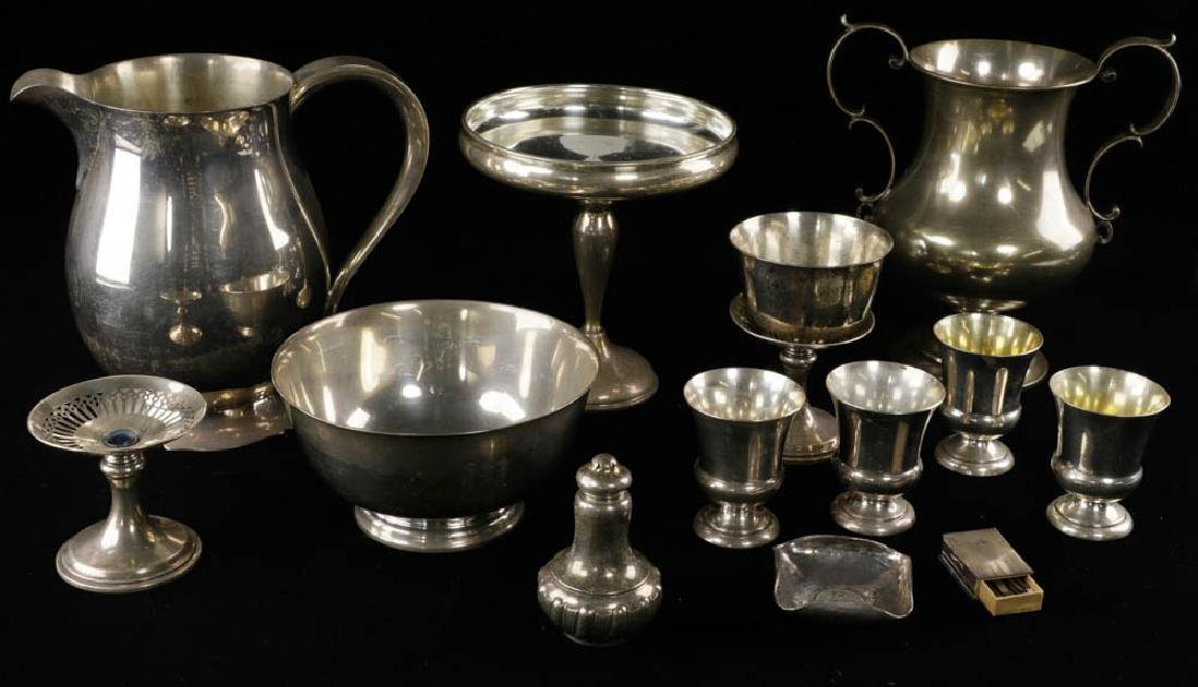 Collection of Sterling Items