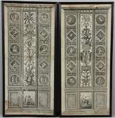 Pair of Italian Etchings by Joannes Volpato