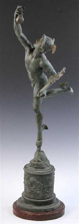Important Hellenistic Bronze Statue Of Bucephalus - Artist makes angel sculpture from more than 100000 confiscated weapons