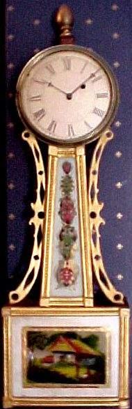 19th CENTURY FEDERAL BANJO CLOCK