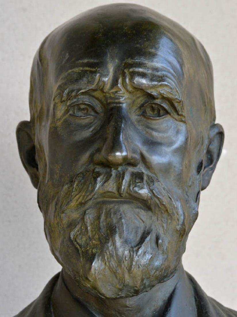 Harold Parker, Australian Bronze Bust - 2
