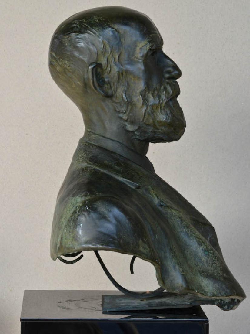 Harold Parker, Australian Bronze Bust - 3