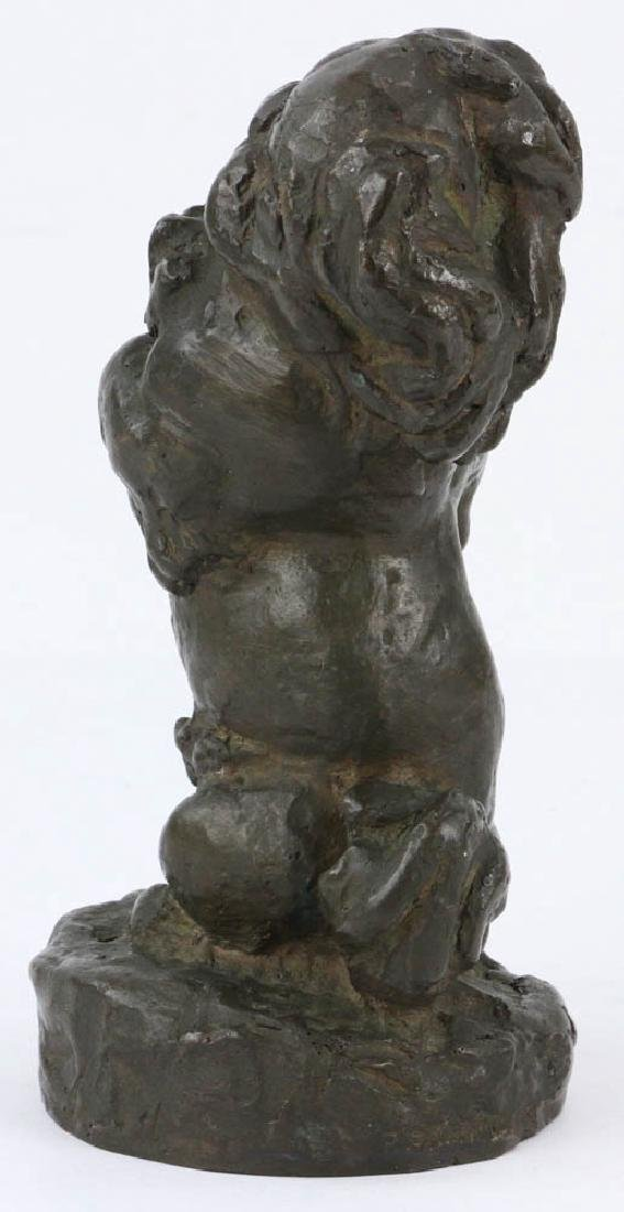 Lilian Swann Saarinen, Early Bronze Poodle Sculpture - 2