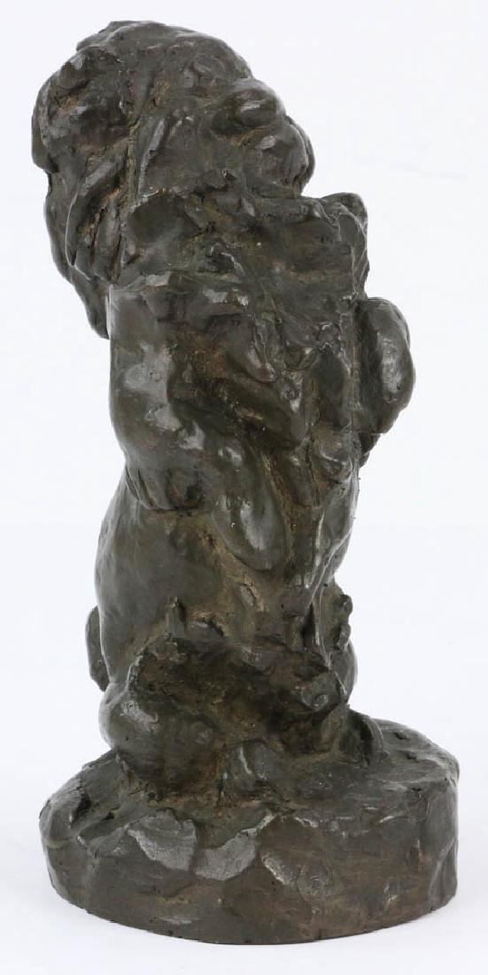Lilian Swann Saarinen, Early Bronze Poodle Sculpture - 4