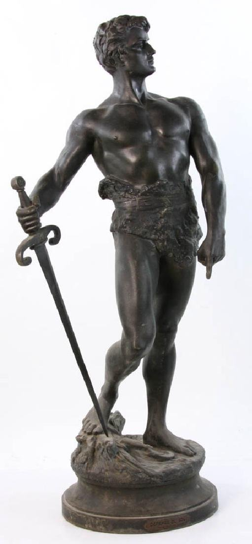 Sculpture, Defence du Sol, After Constant