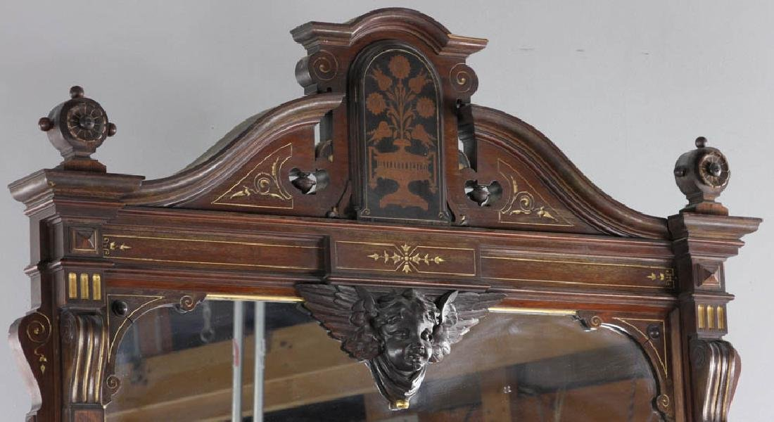 Victorian Chest with Mirror - 6