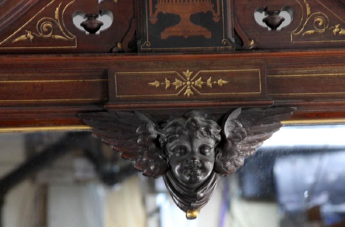 Victorian Chest with Mirror - 8