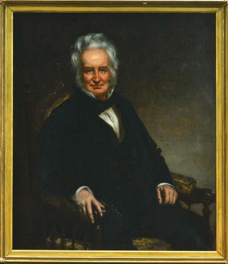 Healey, R.I. Governor John Francis, Oil on Canvas