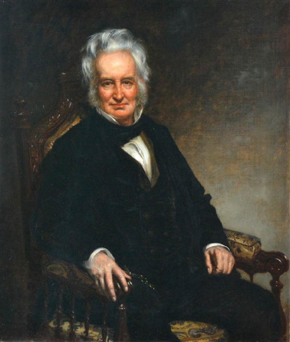 Healey, R.I. Governor John Francis, Oil on Canvas - 2