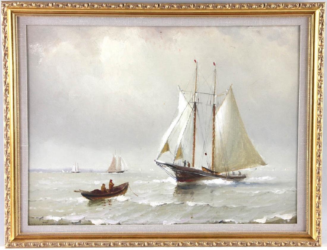 Marshall Johnson Painting