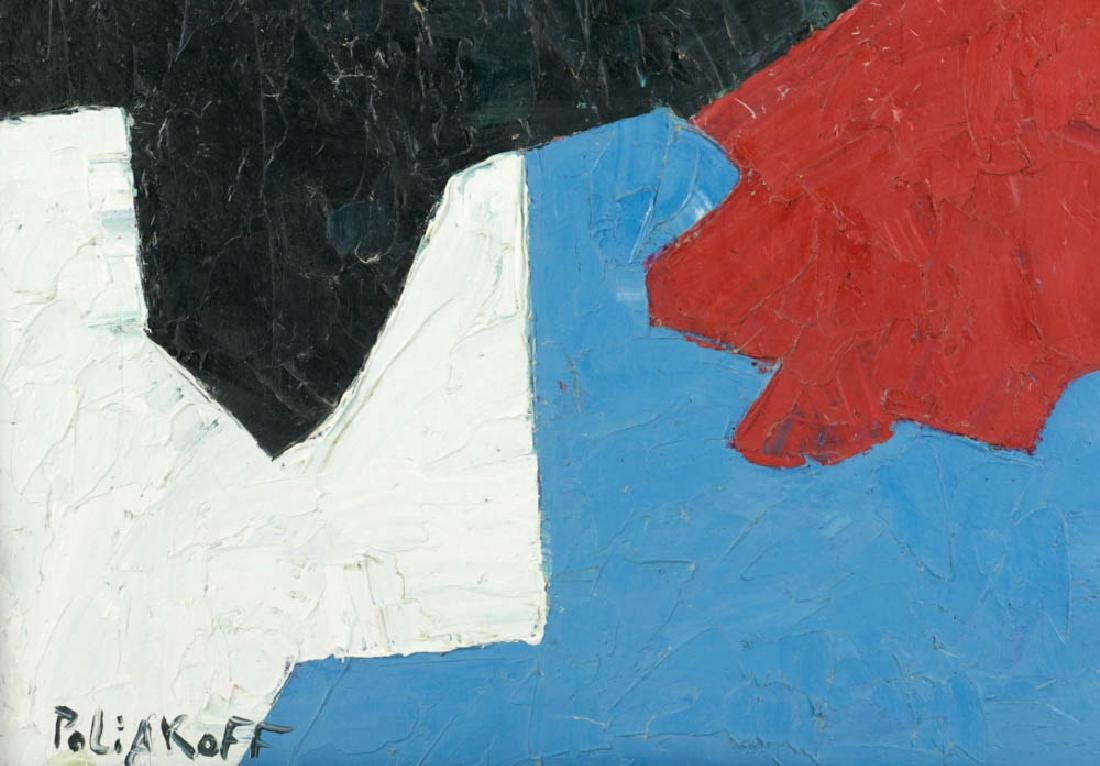 Signed Poliakoff, Abstract, Oil on Panel - 3