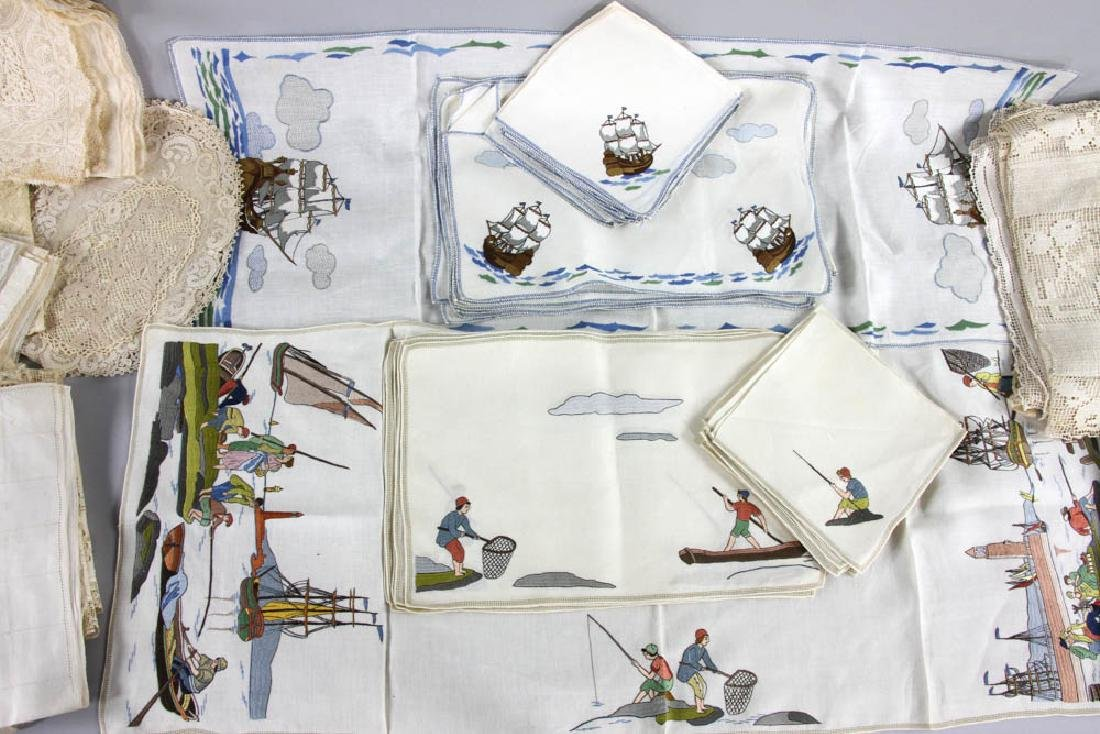 Collection of Linens, Placemats, Napkins - 2