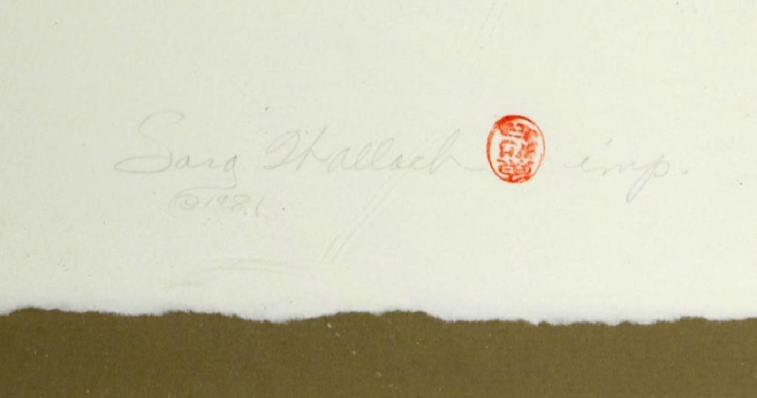 Sang Hallach Signed Print - 4