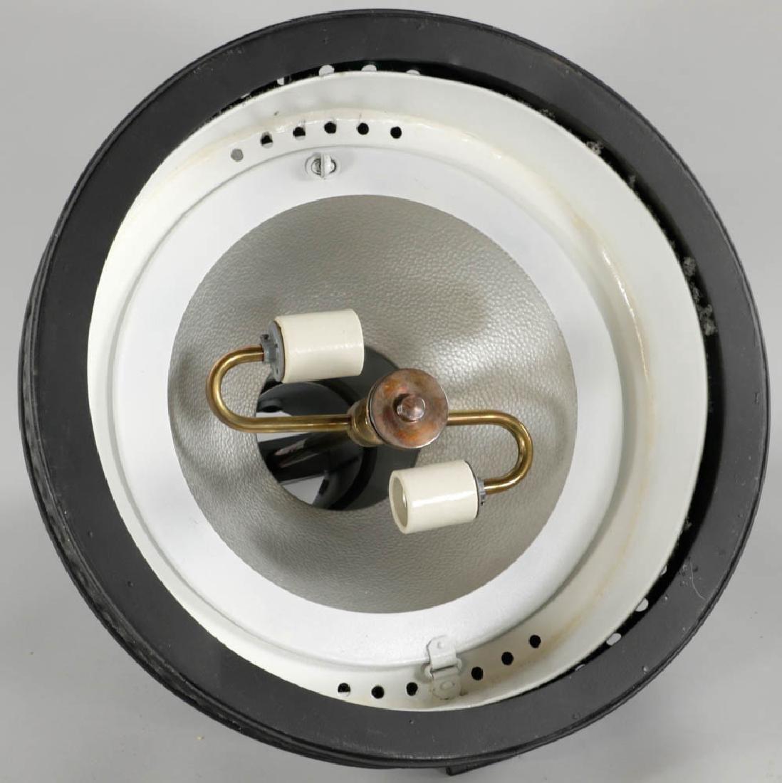 Large Vintage Tin Movie Set Light - 5